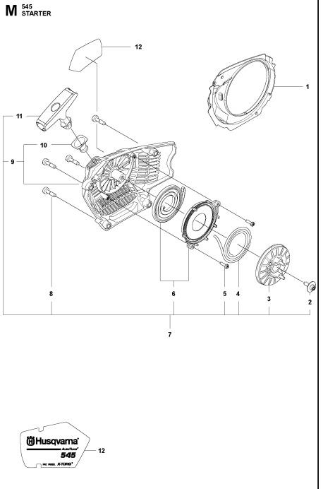 545 550XP(G) Starter