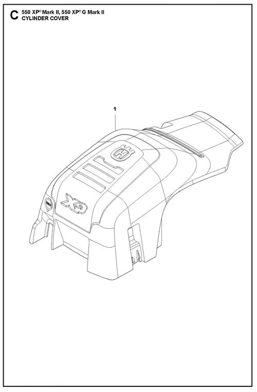 545II-550XP(G)II   [550XPGII] ZYLINDERDECKEL
